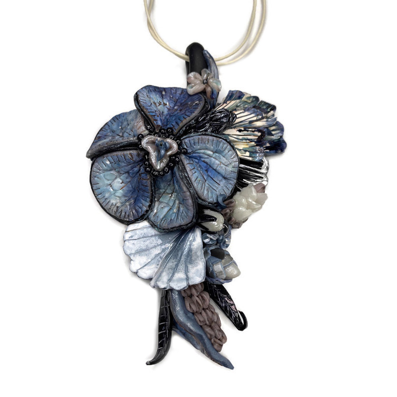 Kim Cook - Payne's Grey Fantasy Necklace
