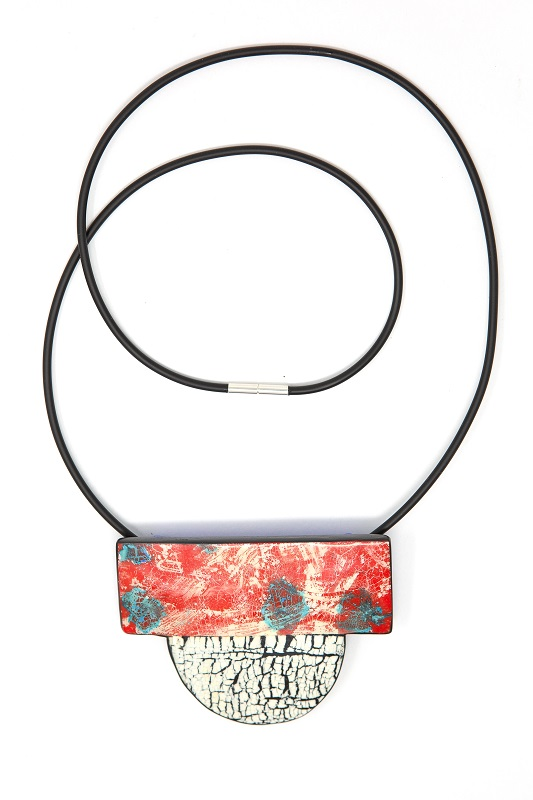 Liga Valge - Element Series Fire Necklace