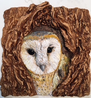 owl sculpting csherman