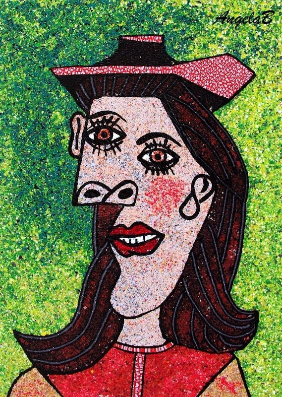 Angela Barenholtz - Art interpretation to Pablo Picasso