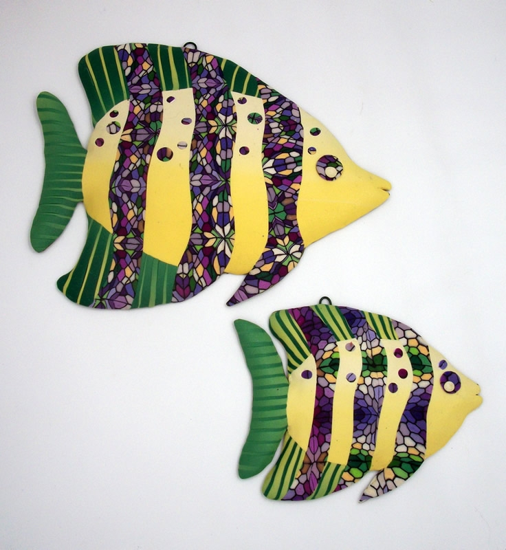 Linda Leach - Whimsical Fish Sculptures